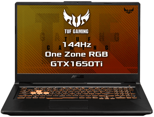 ASUS TUF Gaming F17 FX706LI-HX204T čierny