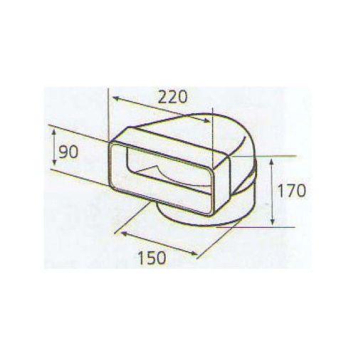 ELICA 1053 P, plastove rozvody 150mm