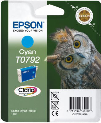 EPSON T07924020 CYAN cartridge Blister