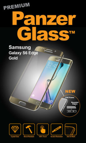 PANZERGLASS Premium Galaxy S6 Edge, Gold