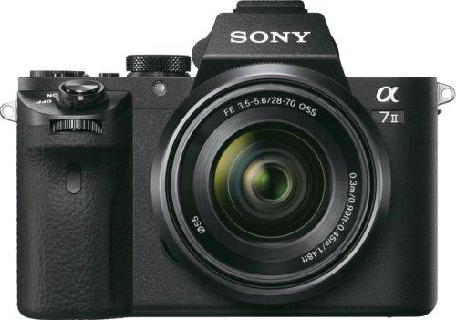 Sony Alpha 7 II + FE 28–70 mm f/3.5–5.6 OSS