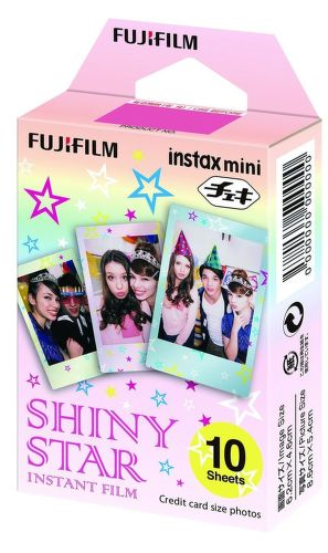 Fujifilm Instax Mini Shiny Star, 10ks