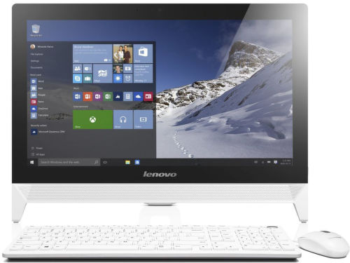 Lenovo IdeaCentre C20-00 (biela) - All In One