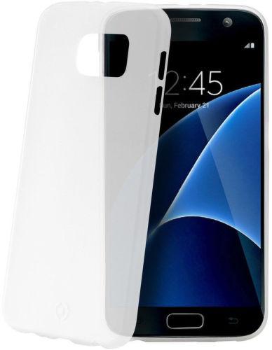 Celly Frost puzdro pre Galaxy S7, biele