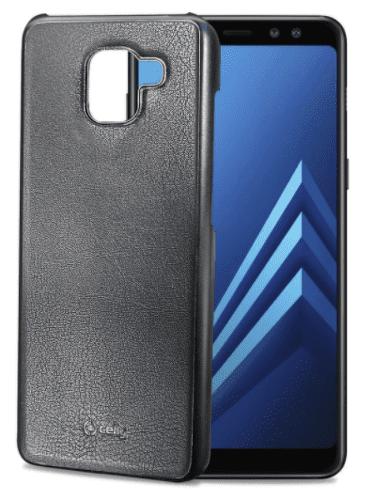 Celly Ghost puzdro pre Galaxy A8+ 2018, čierne