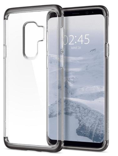 Spigen Neo Hybrid Crystal puzdro pre Galaxy S9+, gunmetal