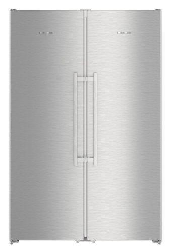 Liebherr SBSef 7242, nerezová americká chladnička