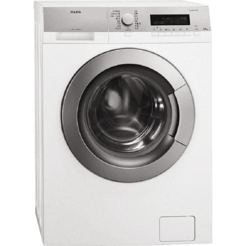 AEG L85470SL, biela práčka plnená spredu