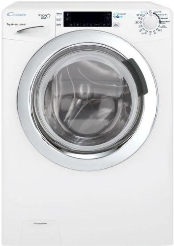 CANDY GVF4 137LWHC3-S  biela smart slim práčka plnená spredu