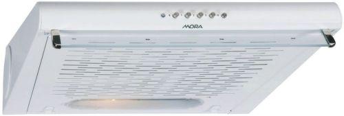 MORA OP 620 W, biely podskrinkový digestor
