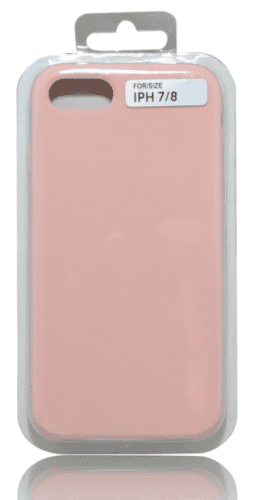 Mobilnet silikónové puzdro pre iPhone 7/8, růžová
