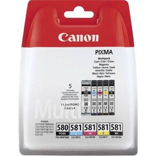 Canon PGI-580/CLI-581 BK/CMYK MULTI BL SEC