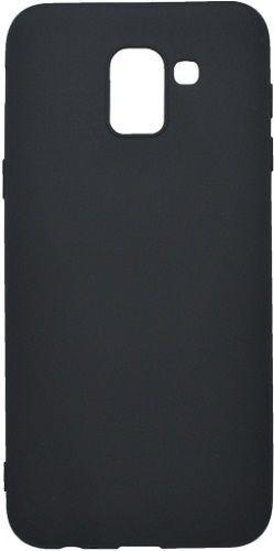 Mobilnet gumené puzdro pre Samsung Galaxy J6 2018, čierne