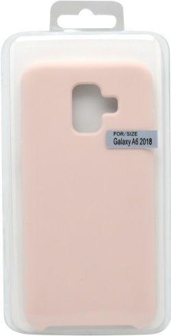 Mobilnet silikónové puzdro pre Samsung Galaxy A6, ružové