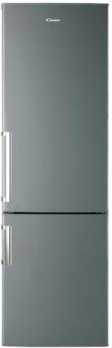 Candy CCBS 6184XH 1, nerezová kombinovaná chladnička