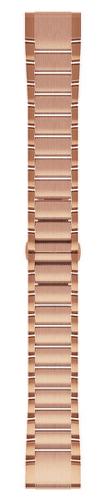 Garmin QuickFit 20 kovový remienok, ružovo zlatý