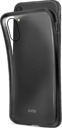 SBS silikónové puzdro pre Apple iPhone Xr, čierne