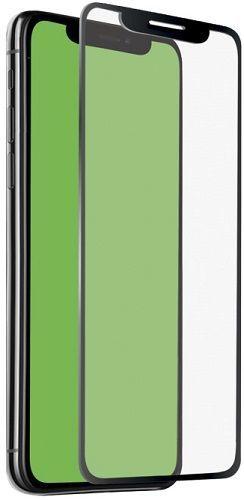 SBS 4D tvrdené sklo pre Apple iPhone Xs Max s aplikátorom, čierna