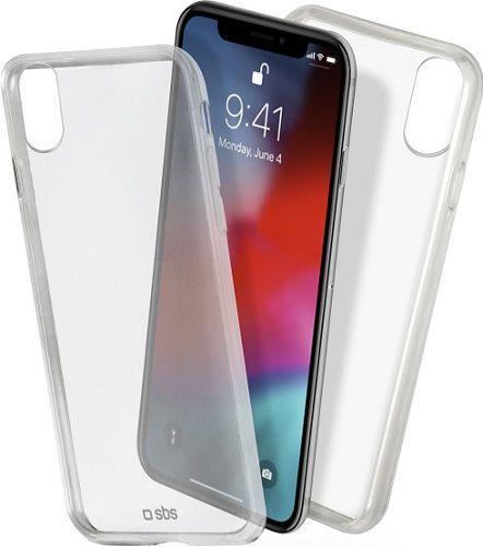 SBS Clear Fit puzdro pre Apple iPhone Xr, transparentné