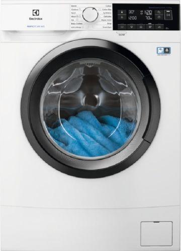 Electrolux PerfectCare 600 EW6S347S, biela práčka plnená spredu