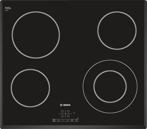 Bosch PKF651B17E, čierna sklokeramická varná doska