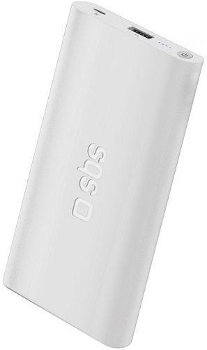SBS powerbanka 4000 mAh 1x USB, biela
