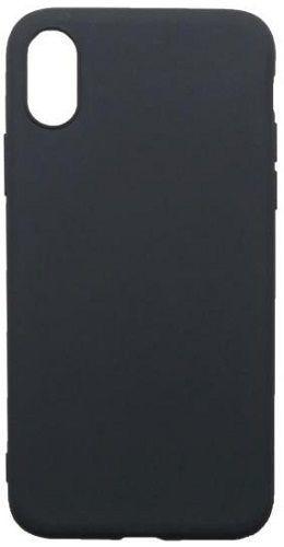 Mobilnet gumené puzdro pre Apple iPhone Xs, čierna