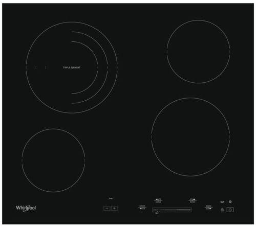 Whirlpool AKT 8900 BA, čierna sklokeramická varná doska