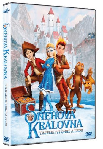 Snehová kráľovná: Tajomstvo ohňa a ľadu - DVD
