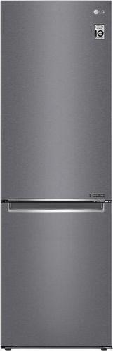 LG GBB61DSJZN, tmavošedá kombinovaná chladnička