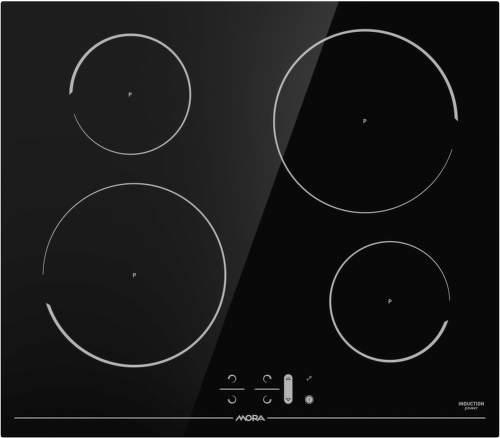 MORA VDIT 650 FF, čierna indukčná varná doska