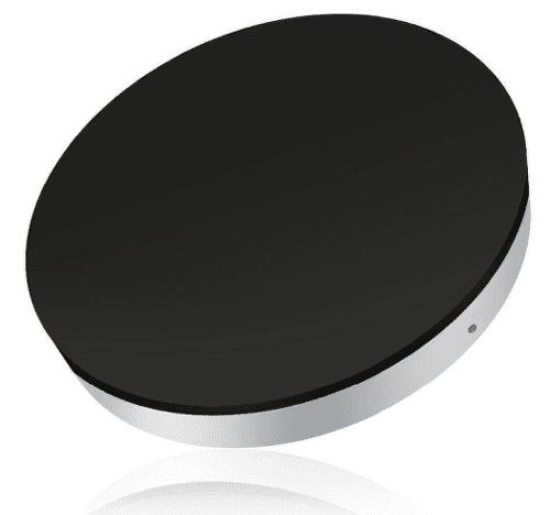 Zens Round bezdrôtová nabíjačka 5 W, čierna