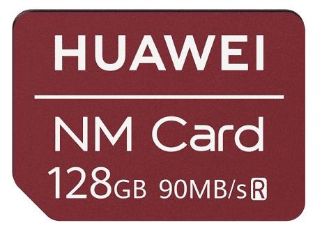 Huawei NM pamäťová karta 128 GB, červená