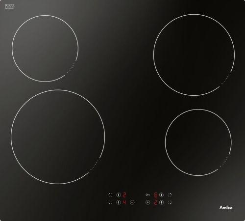 Amica DS 6401 B, čierna sklokeramická varná doska