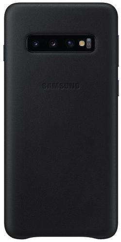 Samsung Leather Case pre Samsung Galaxy S10+, čierna