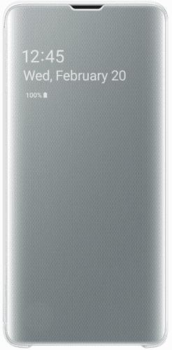 Samsung Clear View puzdro pre Samsung Galaxy S10+, biela