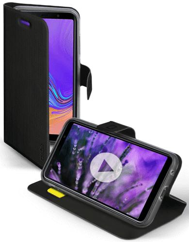 SBS Book Sense puzdro pre Samsung Galaxy A7 2018, čierna