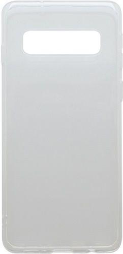 Mobilnet gumené puzdro pre Samsung Galaxy S10+, transparentná