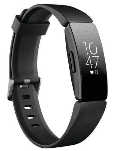 Fitbit Inspire HR čierny