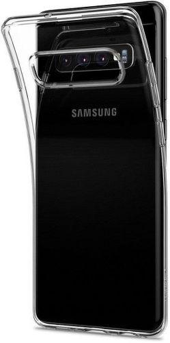 Spigen Liquid Crystal puzdo pre Samsung Galaxy S10+, transparentná