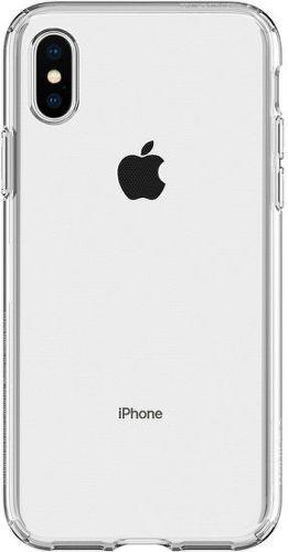 Spigen Liquid Crystal puzdo pre iPhone X/Xs, transparentná