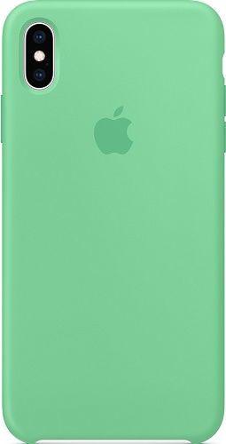 Apple silikónové puzdro pre Apple iPhone Xs Max, zelená