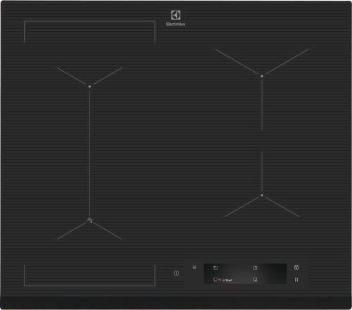 Electrolux 800 SENSE SenseFry EIS6448, sivá indukčná varná doska
