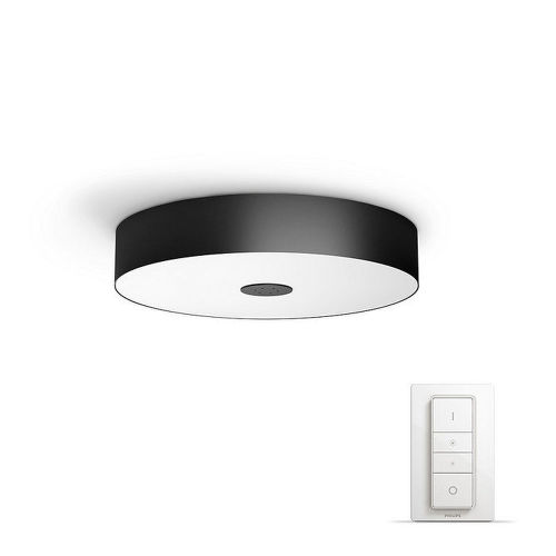 Philips Hue Fair čierna stropnica 40340/30/P7 39 W + SWITCH