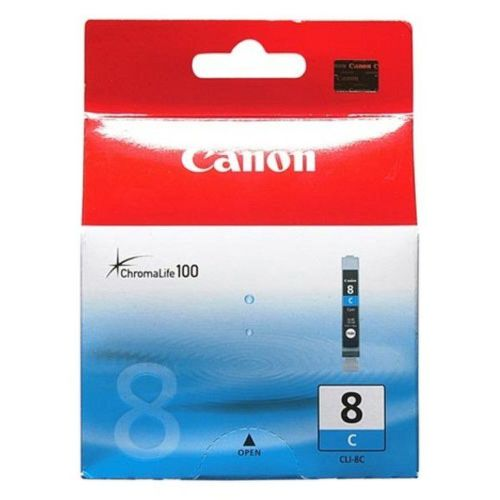 CANON CLI-8 C, CYAN Ink Cartridge, BL SEC