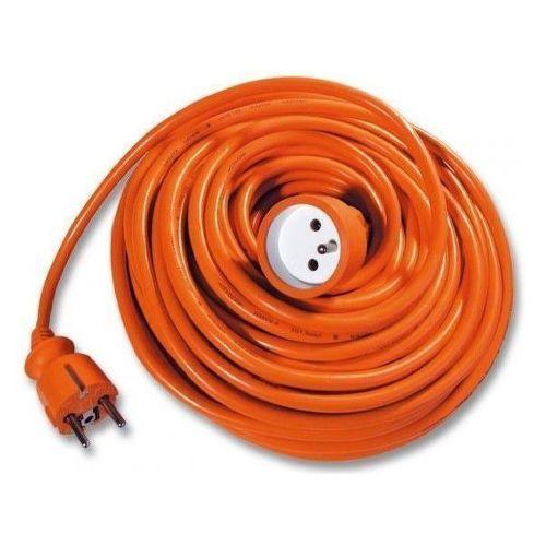 Pohyb. Prívod-spojka, 15m, oranžový 3x1,0mm