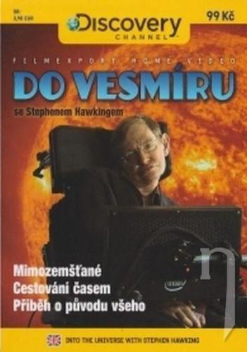 DVD F - Do vesmíru se Stephenem Hawkingem - 2x DVD