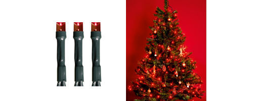 SOMOGYI KI 200 LED/R LED reťaz, 200ks, červená