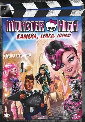 dvd monster high kamera lebka ideme