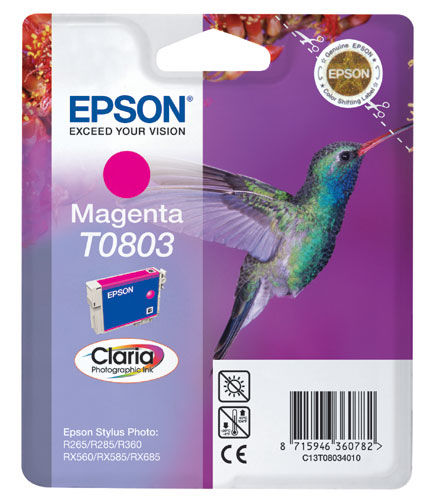 EPSON T08034021 MAGENTA cartridge Blister
